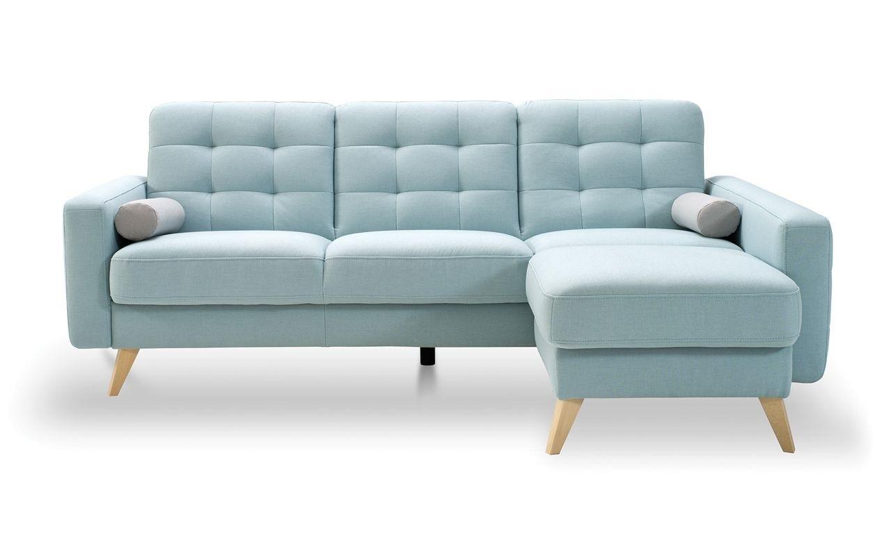 Elementy paczki: narożnik, sofa, fotel, taboret