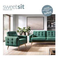 Nowy katalog marki Sweet Sit kolekcja 2019 / 2020 - meble wypoczynkowe do małych salonów