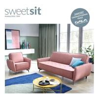 Nowy katalog marki Sweet Sit kolekcja 2018 / 2019 - meble wypoczynkowe do małych salonów