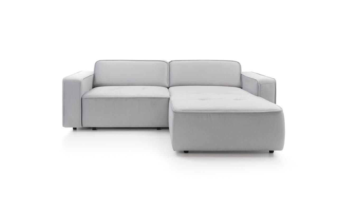 Elementy paczki: narożnik, sofa