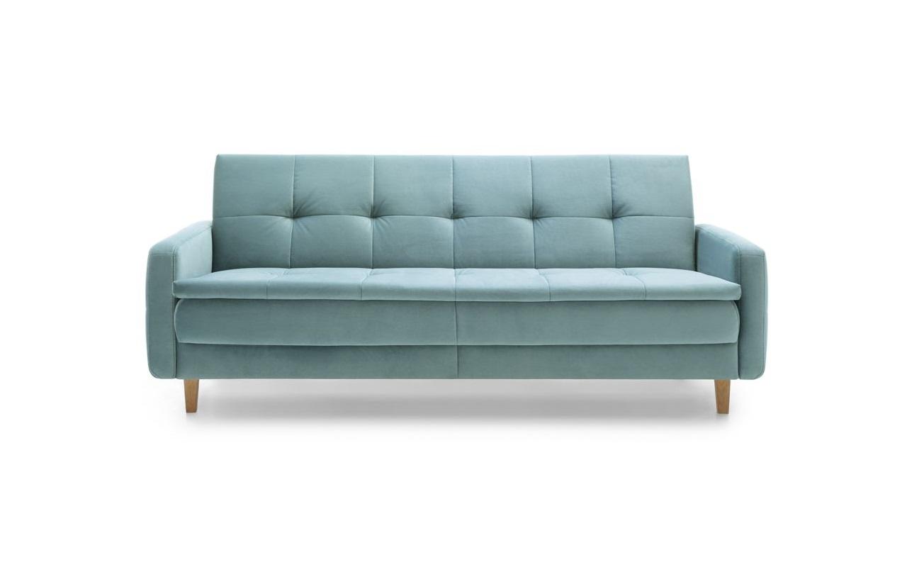Elementy paczki: sofa, taboret